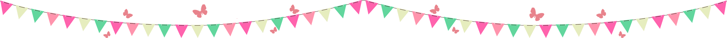Heidi Swain Cherry Tree Cafe bunting